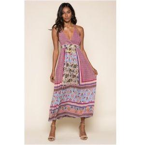 ANTHROPOLOGIE Raga Robin Racerback Midi Dress